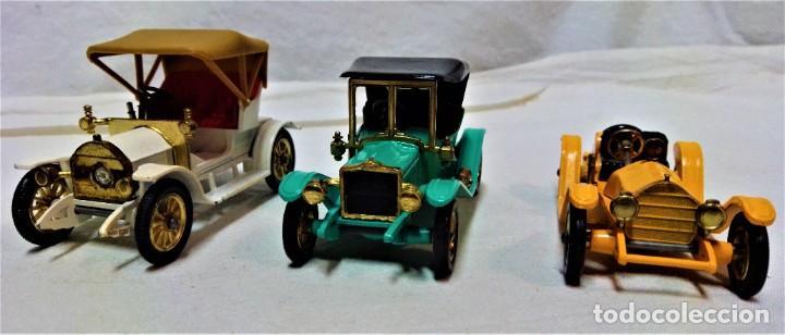 Coches a escala: LOTE 3 MODELOS COCHES ANTIGUOS MATCHBOX.Y4,Y7,Y14.EN SUS CAJAS.VER DESCRIPCIÓN Y FOTOGRAFIAS. - Foto 4 - 232858550