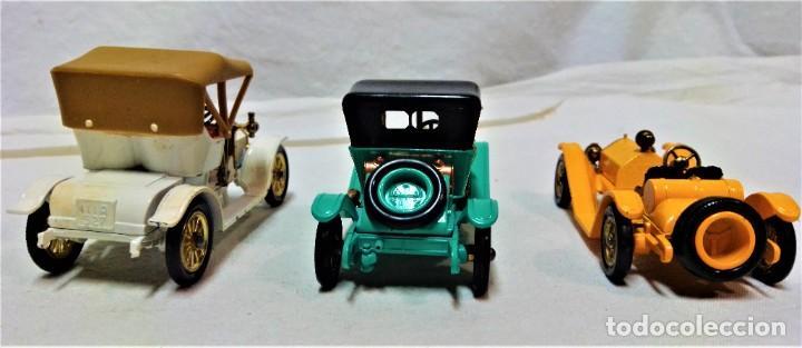 Coches a escala: LOTE 3 MODELOS COCHES ANTIGUOS MATCHBOX.Y4,Y7,Y14.EN SUS CAJAS.VER DESCRIPCIÓN Y FOTOGRAFIAS. - Foto 5 - 232858550
