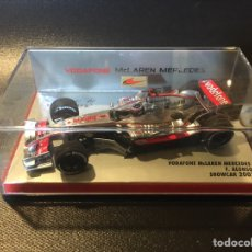 Coches a escala: COCHE F1 SHOW CAR 2007 F. ALONSO PAULS MODEL ART VODAFONE MCLAREN MERCEDES. Lote 234691045