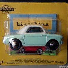 Auto in scala: COCHE AUTOBIANCHI BIANCHINA MERCURY HACHETTE 1:48 DIE CAST NUEVO EN BLISTER ORIGINAL. Lote 234773410
