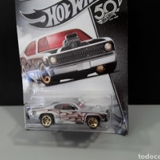 """Coches a escala: COCHE HOT WHEELS 50 ANIVERSARIO DIE CAST 1:64 """" PLYMOUTH DUSTER THRUSTER """". Lote 234899200"""