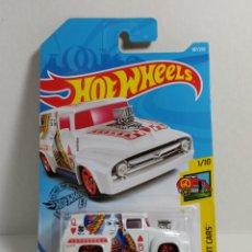 Coches a escala: HOTWHEELS FORD F-100 1956. Lote 234939125