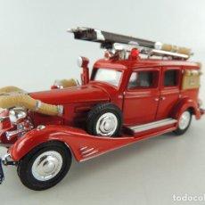 Coches a escala: CAMION DE BOMBEROS MATCHBOX - CADILLAC 1933 V.16 FIRE WAGON -. Lote 235045425