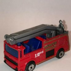 Coches a escala: 219 MATCHBOX SUPERFAST CAMION SNORKEL RESCUE SQUAD FIRE 1/64 DIECAST CAR 1:64. Lote 235124815