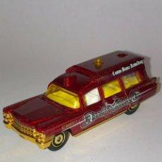 Coches a escala: 225 MATCHBOX SUPERFAST 1963 CADILLAC AMBULANCE CBR CUSTOM 1/64 DIECAST CAR 1:64 ALFREEDOM. Lote 235128300