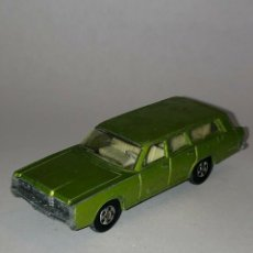 Coches a escala: 227 MATCHBOX SUPERFAST MERCURY DOGS Nº 55 GREEN BY LESNEY 1/64 DIECAST CAR 1:64 ALFREEDOM. Lote 235129145