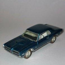 Coches a escala: 236 JOHNNY LIGHTNING COCHE 1968 MERCURY COUGAR BLUE CAR 1/64 DIECAST 1:64. Lote 235136980