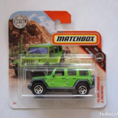 Coches a escala: MATCHBOX '18 JEEP WRANGLER JL UNLIMITED. Lote 235295465