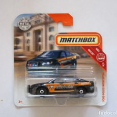 Coches a escala: MATCHBOX FORD POLICE INTERCEPTOR. Lote 235295870
