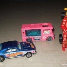 Coches a escala: LOTE 3 COCHES HOTWHEELS BARBIE ROBOT Y CLASSIC. Lote 235606950