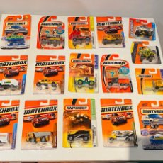 Coches a escala: MATCHBOX VEHICULOS LOTE 16. Lote 235803095