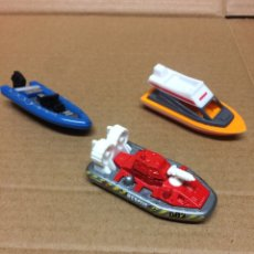 Coches a escala: LOTE HOVERCRAFT MATCHBOX 2000 MATTEL Y LANCHAS S/M. Lote 235857355