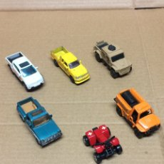 Coches a escala: LOTE COCHES MATCHBOX Y MOTOR MAX. Lote 235858810