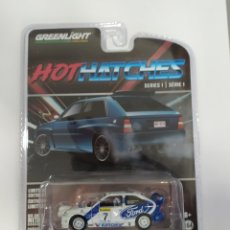 Coches a escala: FORD ESCORT RS COSWORTH 1996 GREENLIGHT. Lote 235871870