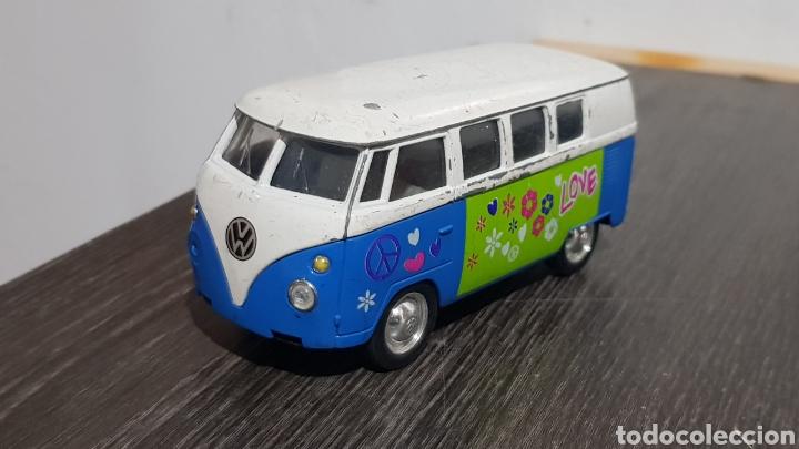 VW MICROBÚS WELLY 1/40 (Juguetes - Coches a Escala Otras Escalas )