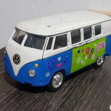 Coches a escala: VW MICROBÚS WELLY 1/40. Lote 236402890