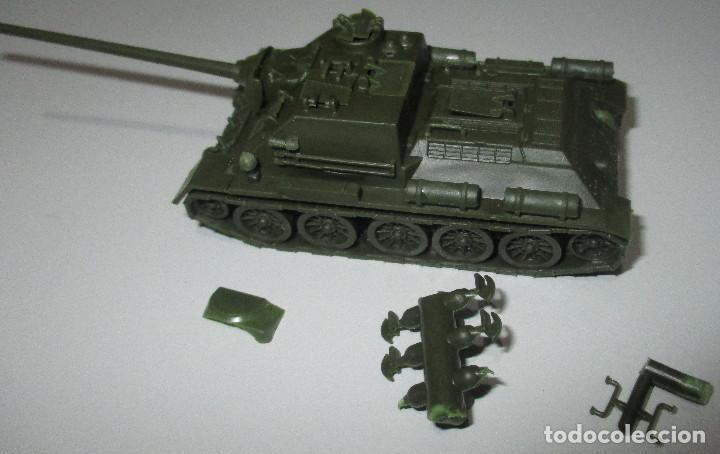 Coches a escala: PREMO / ROCO vehículo militar tanque 1241 SU 100/1945 1:87 HO H0, similar EKO - Foto 2 - 236407830