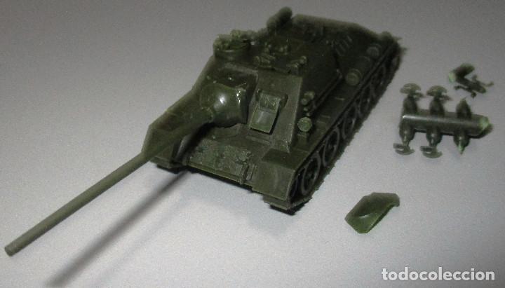 Coches a escala: PREMO / ROCO vehículo militar tanque 1241 SU 100/1945 1:87 HO H0, similar EKO - Foto 3 - 236407830