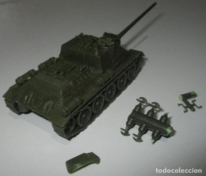 Coches a escala: PREMO / ROCO vehículo militar tanque 1241 SU 100/1945 1:87 HO H0, similar EKO - Foto 4 - 236407830