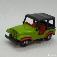 Coches a escala: GUISVAL - JEEP WILLYS - GUISVAL CAMPEON -ESC.1/64 - SPAIN. Lote 236657255