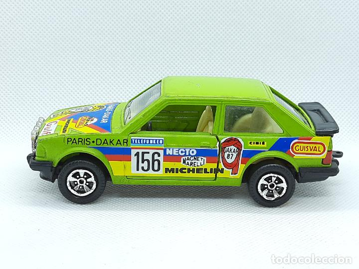 Coches a escala: GUISVAL- FORD ESCORT XR3 RALLYE - ESC.1/33 - GUISVAL SERIE FUEGO -MADE IN SPAIN - Foto 4 - 236745905