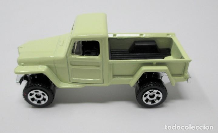 Coches a escala: Jeep Willys 4x4 Pick Up de Matchbox - Thailandia 2015 - Foto 2 - 236992925