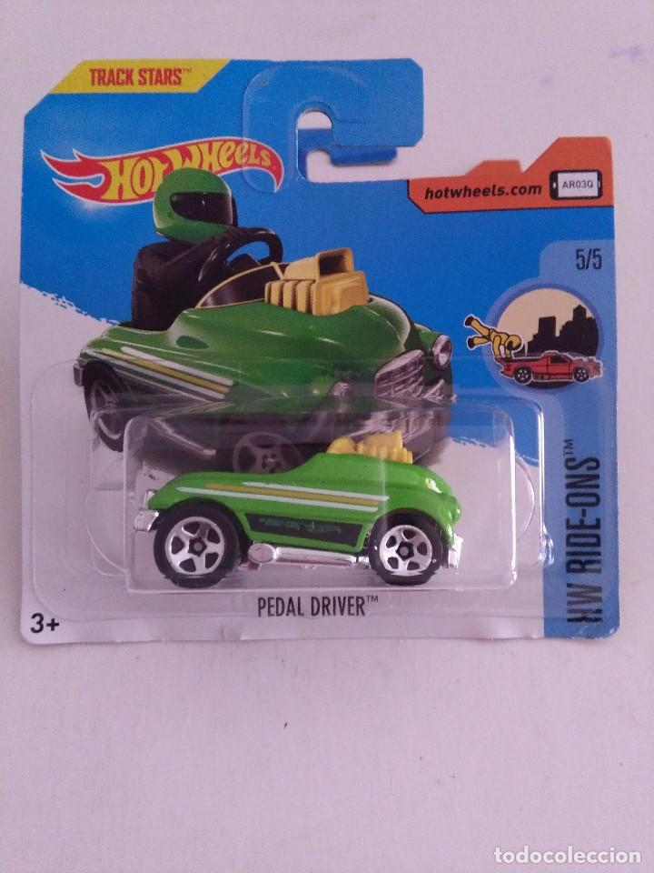 HOT WHEELS PEDAL DRIVER 301/365 BLISTER 2017. (Juguetes - Coches a Escala Otras Escalas )