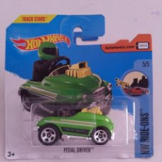 Coches a escala: HOT WHEELS PEDAL DRIVER 301/365 BLISTER 2017.. Lote 237298945