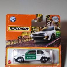 Auto in scala: MATCHBOX VOLKSWAGEN GOLF MK1 1976. Lote 238594975