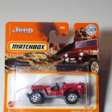Auto in scala: MATCHBOX 1948 JEEP WILLYS 76/100 ESCALA 1:64. Lote 238595785