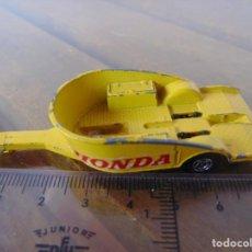 Coches a escala: COCHE A ESCALA DE LA MARCA MATCHBOX Nº 38 HONDA PARA MOTO. Lote 238768125