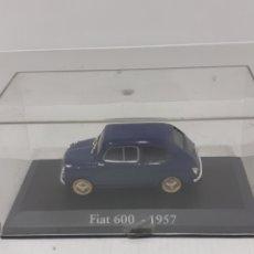 Coches a escala: FIAT 600 1957 (SEAT 600) NUEVO A ESTRENAR 1/43. Lote 289017673