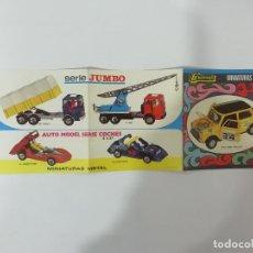 Auto in scala: CATÁLOGO GUISVAL MINIATURAS METAL - MINI RALLYE JUMBO AUTO MODEL 1:37 ... - AÑO 1969 -(L). Lote 240626650