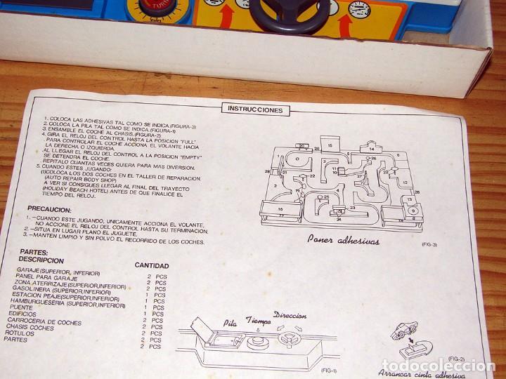 Coches a escala: MICRO MAZE - BERNABEU GISBERT - JUEGO DE CONDUCCION - NUEVO A ESTRENAR - AÑOS 80 - Foto 9 - 241769645