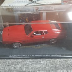 Coches a escala: MUSTANG MACH 1, DIAMONDS ARE FOREVER, AGENTE OO7. Lote 241843570