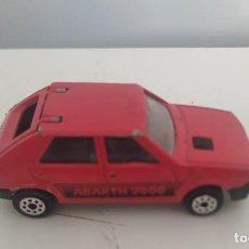 Coches a escala: FIAT RITMO ABARTH 2000 DE MAJORETTE. Lote 242199910
