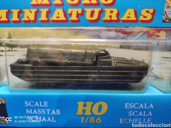 Coches a escala: CAJA MILITAR EKO MICRO MINIATURAS H0, 1/86 CON TRES MODELOS, NUEVA DE LOS AÑOS 70 , REF 4706 - Foto 3 - 243035075