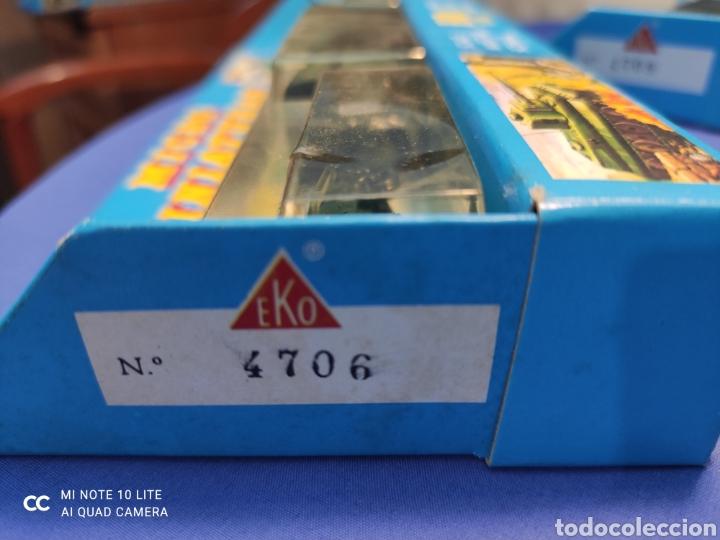Coches a escala: CAJA MILITAR EKO MICRO MINIATURAS H0, 1/86 CON TRES MODELOS, NUEVA DE LOS AÑOS 70 , REF 4706 - Foto 6 - 243035075