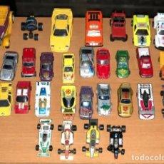 Auto in scala: COLECCIÓN COCHES DE JUGUETE ANTIGUOS, 31 COCHES. Lote 243101495