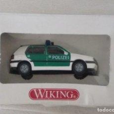 Coches a escala: 1/87 VIKING REFERENCIA Nº 10401 POLIZEI VW GOLF (HERPA,PRALINE,ROCO,BREKINA). Lote 218717477