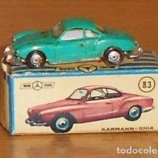 Coches a escala: ANGUPLAS. MINI CARS. KARMANN GHIA. Nº 83. DIVISION SPORT. SERIE D. ESCALA 1/86.. Lote 243644075