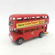 Coches a escala: AUTOBÚS DE LONDRES, DOUBLE DECKER BUS DE PLAYART REFERENCIA 92 SERIE FAST WHEEL. Lote 243790835