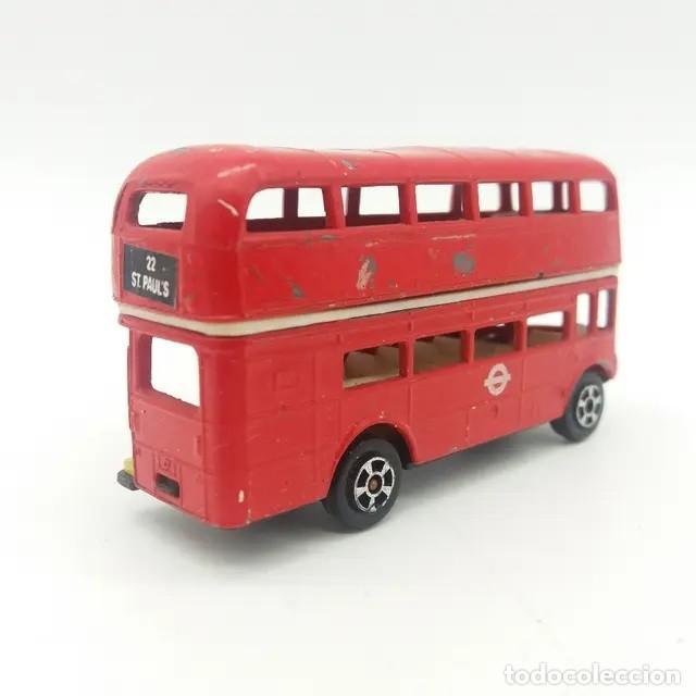 Coches a escala: Autobús de Londres, Double Decker Bus de PLAYART referencia 92 serie Fast Wheel - Foto 2 - 243790835