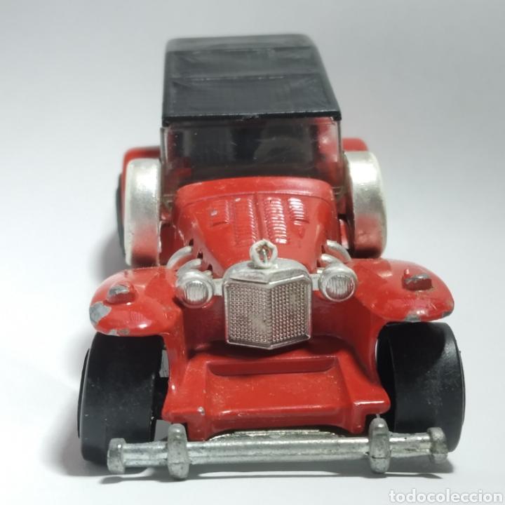 Coches a escala: Excalibur rojo con capota referencia 267 escala 1:56 de Majorette, versión años 1980 a 1982 - Foto 5 - 244025725