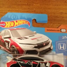 Coches a escala: HOT WHEELS 2018 HONDA CIVIC TYPE R. HOTWHEELS 1/64. HONDA SERIES 2020.. Lote 244450395