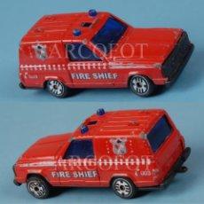 Coches a escala: GUISVAL - PATROL 4WD - FIRE SHIEF - EL DE LAS FOTOS / COMO EN LAS FOTOS. Lote 244772960