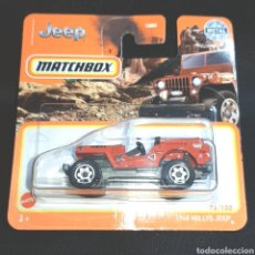 Coches a escala: (ETB) MATCHBOX: 1948 WILLYS JEEP. 76/100. Lote 245120615