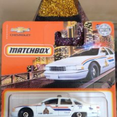 Coches a escala: MATCHBOX 32/100: CHEVY CAPRICE CLASSIC. Lote 245409585