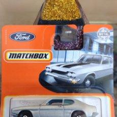 Coches a escala: MATCHBOX 18/100: 1970 FORD CAPRI. Lote 245410085