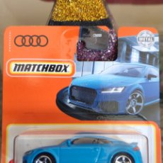 Coches a escala: MATCHBOX 16/100: 2020 AUDI TT RS COUPE. Lote 245410190